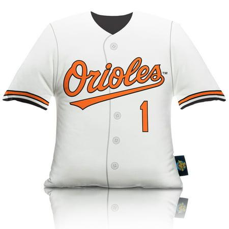 Baltimore Orioles Big League Uniform Pillow - No Size
