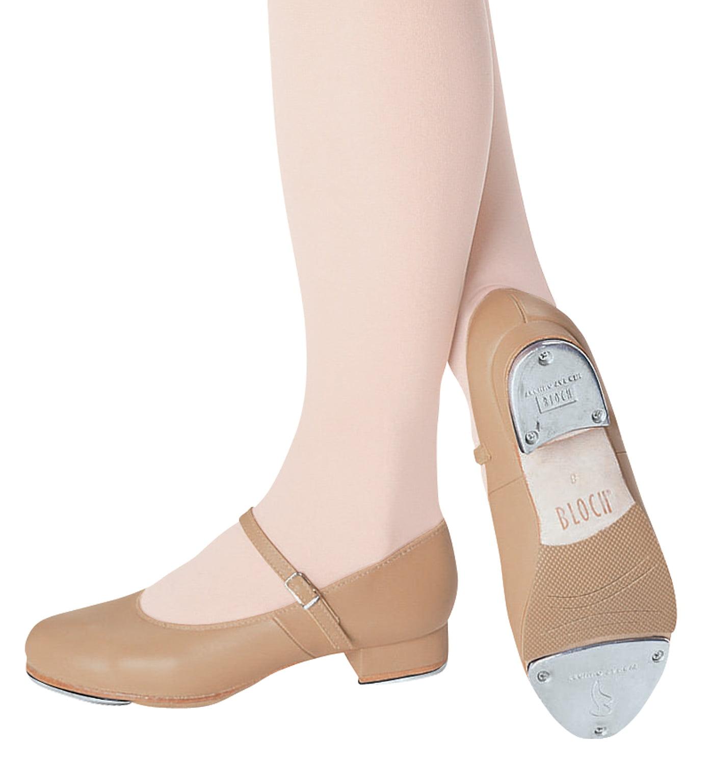 Girls Tan Tap Shoes
