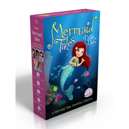 A Mermaid Tales Sparkling Collection : Trouble at Trident Academy; Battle of the Best Friends; A Whale of a Tale; Danger in the Deep Blue Sea; The Lost Princess