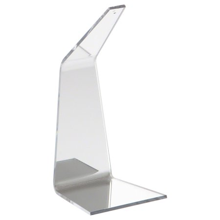 Plymor Brand One-Piece Mirrored Bent Acrylic Ornament Hanger, 6.5