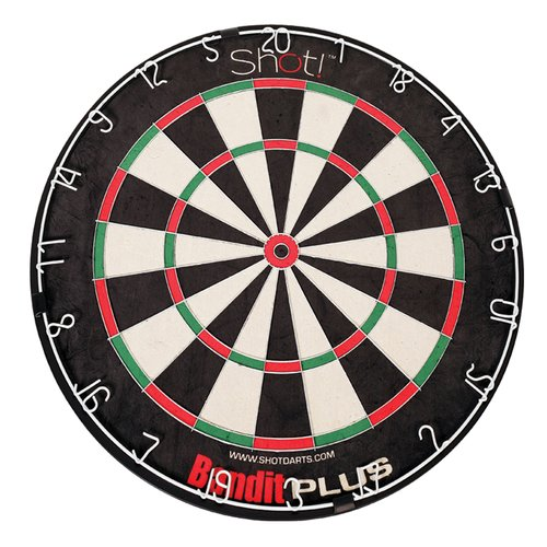 DMI Sports Bandit Plus Staple-Free Bristle Dartboard by DMI Sports
