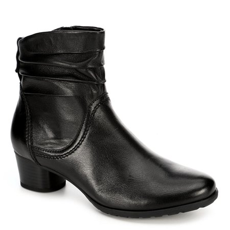 Medicus Womens Theodora Side Zip Slouch Ankle Boot