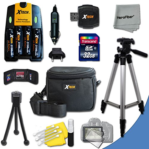 Ultimate Accessory Kit for Canon Powershot A720 IS, A710 ...