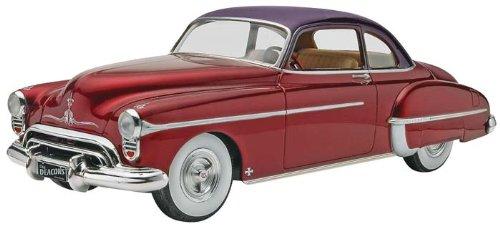50 Olds Custom Plastic Model Kit, Molded in white and clear with chrome plated parts and... by