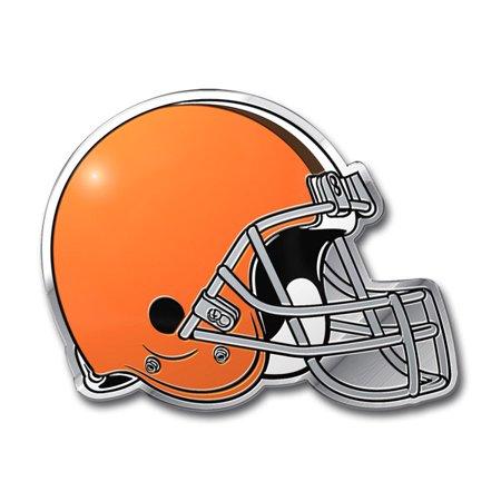 Cleveland Browns Aluminum Auto Emblem Decal Sticker