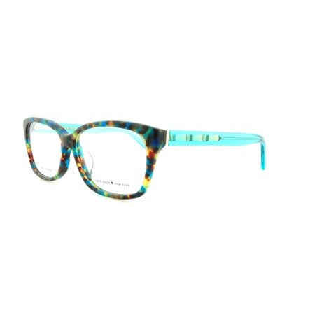 KATE SPADE Eyeglasses DEMI/F 0FB1 Teal Havana Teal 54MM