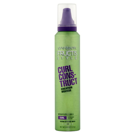 (2 Pack) Garnier Fructis Style Curl Construct Creation Mousse 6.8