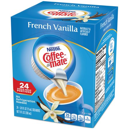 (3 Pack) COFFEE-MATE French Vanilla Liquid Coffee Creamer 24 ct Box (Coffee Creamer)