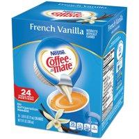 (4 Pack) COFFEE-MATE French Vanilla Liquid Coffee Creamer 24 ct Box