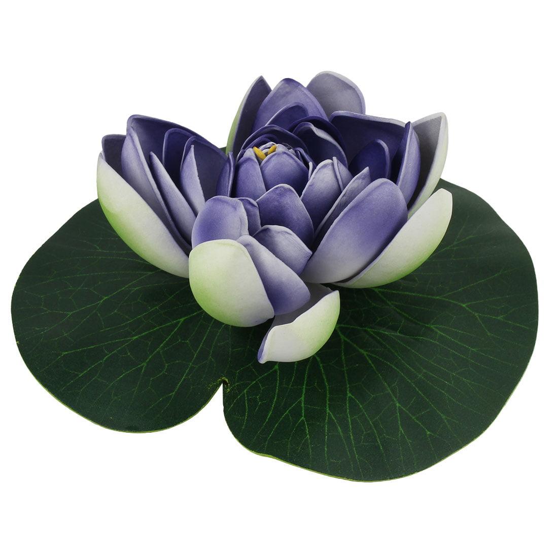 Aquarium Fish Tank Artificial Floating Lotus Flower Leaf Ornament