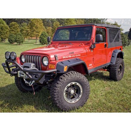 Outland Automotive 6 Piece All Terrain Fender Flare Kit; 97-06 Jeep Wrangler Tj 391163010 All Terrain Fender