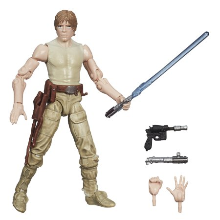 Star Wars The Black Series Luke Skywalker Figure