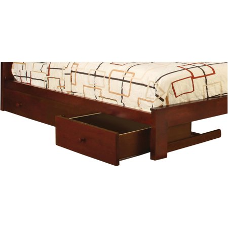 Medina Under Bed Storage Drawers Cherry Set Of 3
