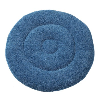 Microfiber Bonnet Pads,Blue,19.00 IN MDT217788