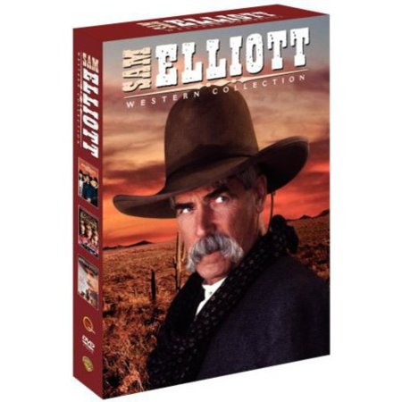 Sam Elliot Western Collection  Rough Riders   You Know My Name   The Desperate Trail  Widescreen
