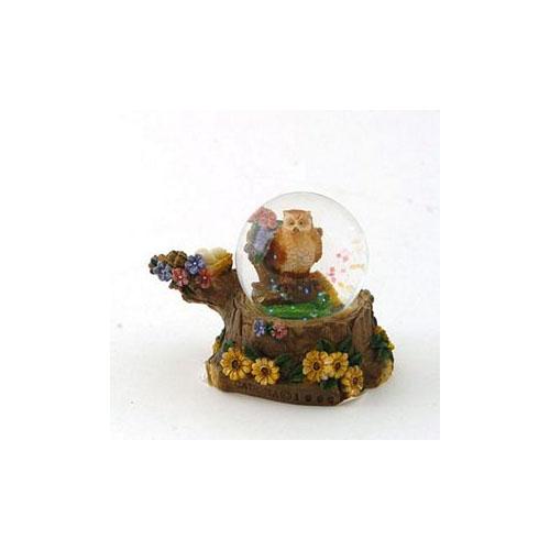 Mini Globe Owl by Cadona CD30019A by Cadona International Inc
