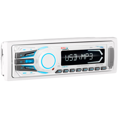 Boss Audio MR1308UAB Stereo Recevier, AM/FM/MP3, Bluetooth