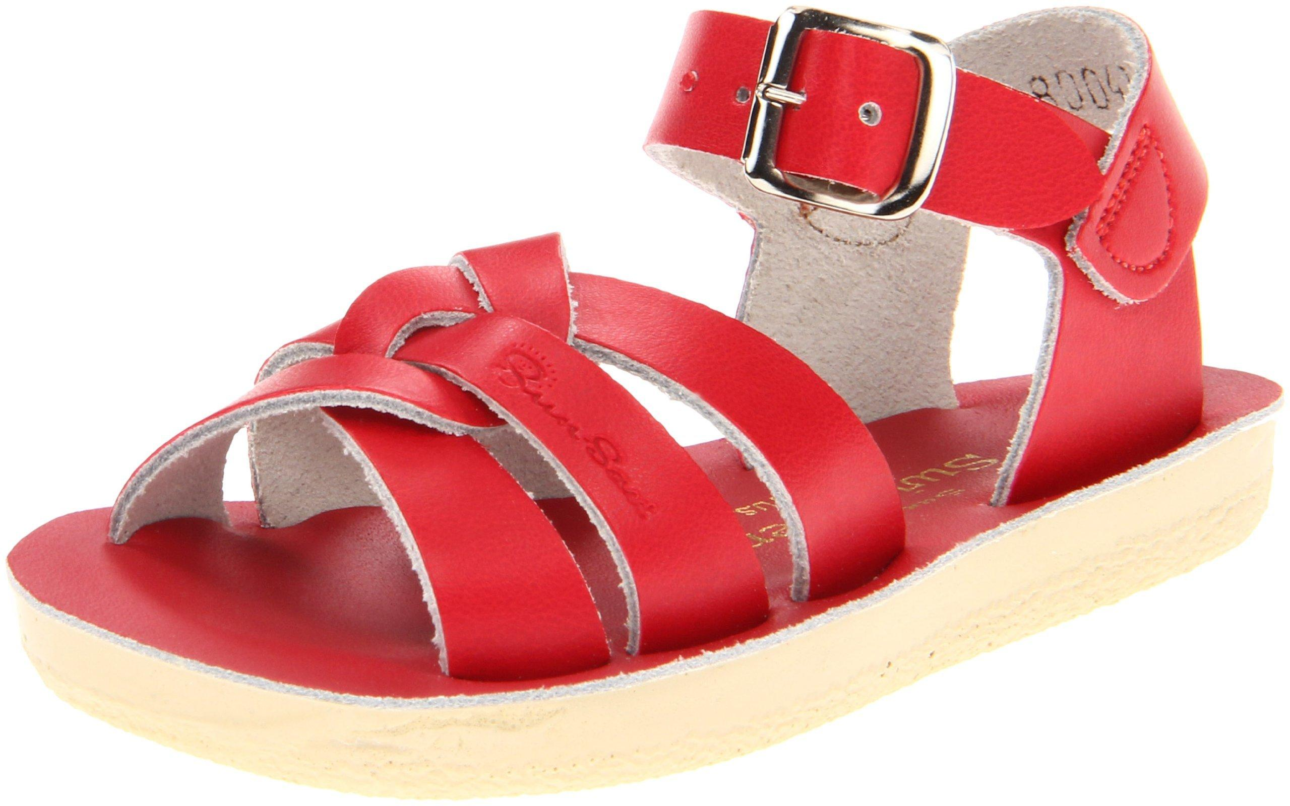 Salt Water Sandals by Hoy Shoe Sun-San Swimmer - Red - Little Kid 13 - 8004-RED-13