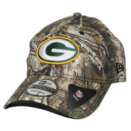 Green Bay Packers New Era Nfl 9Twenty  Realtree  Adjustable Hat