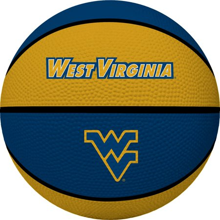 West Virginia Mountaineers Rawlings Crossover Full-Size Basketball - Navy