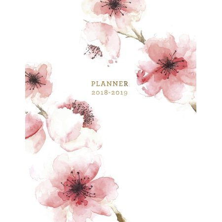 Planner 2018-2019 : Floral 2018-2019 Planner 18-Month Weekly View Planner To-Do Lists + Motivational Quotes Jul 18-Dec