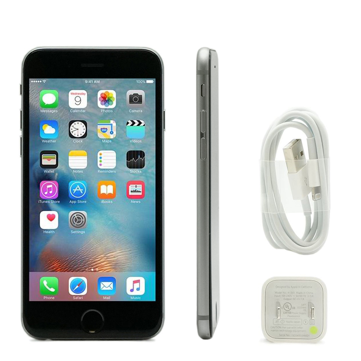 MINT Apple iPhone 6 16GB/64GB/128GB AT&T Smartphone Gold Gray Silver (Refurbished)