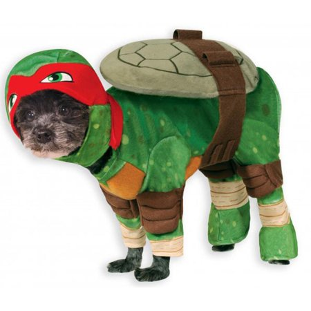 TMNT - Raphael Pet Costume](Turtle Pet Costume)