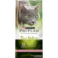 Purina Pro Plan Grain Free Natural Dry Cat Food TRUE NATURE Natural Salmon & Egg Recipe 6 lb. Bag