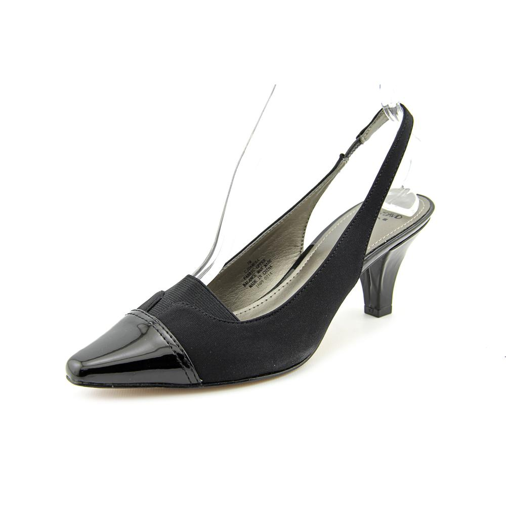 Circa Joan & David Dameka   Pointed Toe Canvas  Slingback...