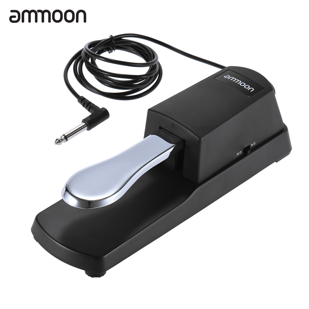 ammoon Piano Keyboard Sustain Damper Pedal by
