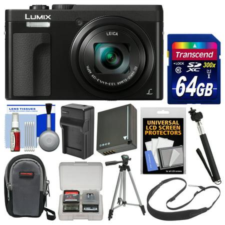 Panasonic Lumix Dc Zs70 4k Wi Fi Digital Camera Black