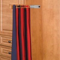 Rev-A-Shelf RCWSTR-14-1 14 in. Side Mount Maple Tie Rack