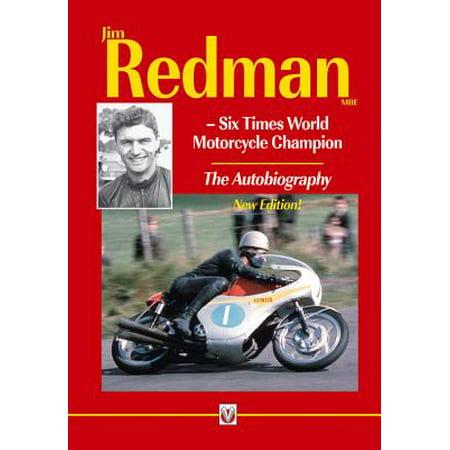 Jim Redman : Six Times World Motorcycle Champion - The Autobiography - New Edition](Redman Halloween)