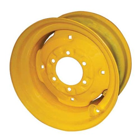 "Image of ""8.25"""" x 16.5"""" Wheel, Yellow, New, Case, D136529, 408856A3"""