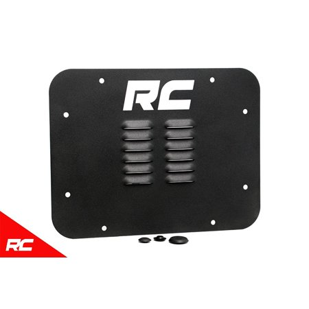 Rough Country Tailgate Vent compatible w/ 2007-2018 Jeep Wrangler JK Spare Tire Carrier Delete Kit 10514 (Jeep Tailgate)