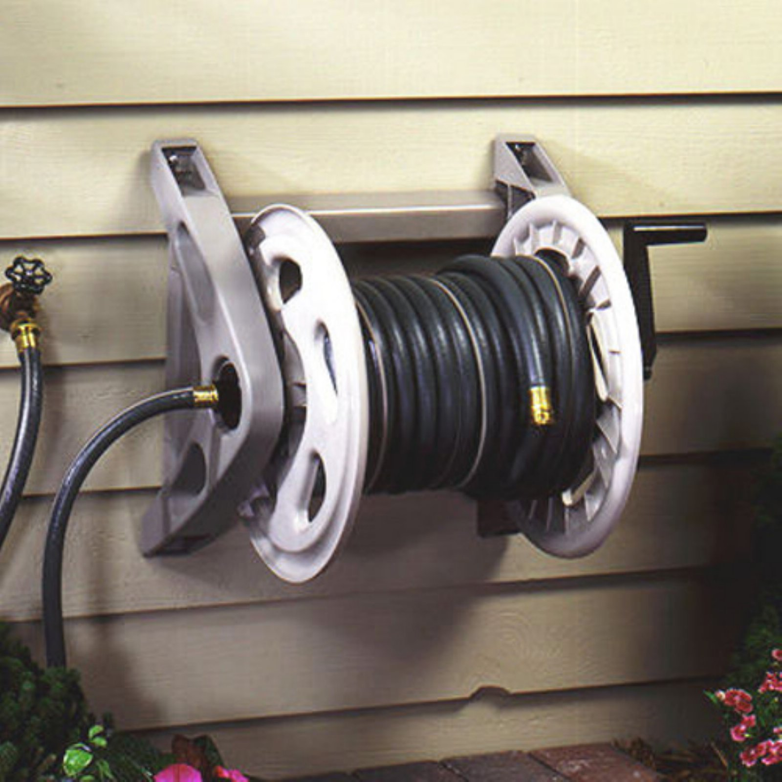Suncast Wall Mounted Hosehandler Hose Reel by Suncast