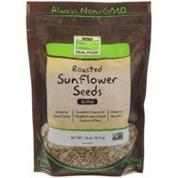 Now Foods  Real Food  Roasted Sunflower Seeds  Salted  16 oz  454 g