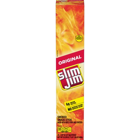 Slim Jim Giant Smoked Meat Stick, Original Flavor, .97 Oz.