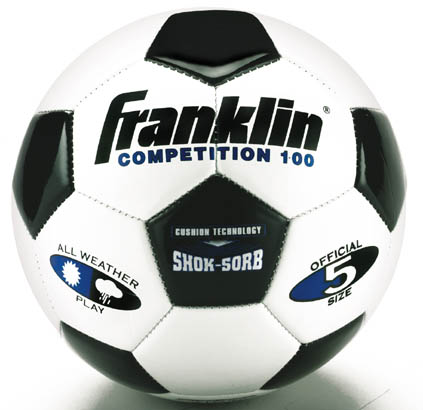 Franklin Sports Competition 100 Size Five Soccer Ball