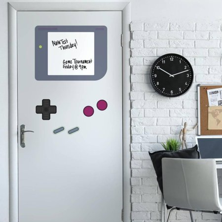 Nintendo Gameboy Dry Erase Giant Peel and Stick Wall Decals