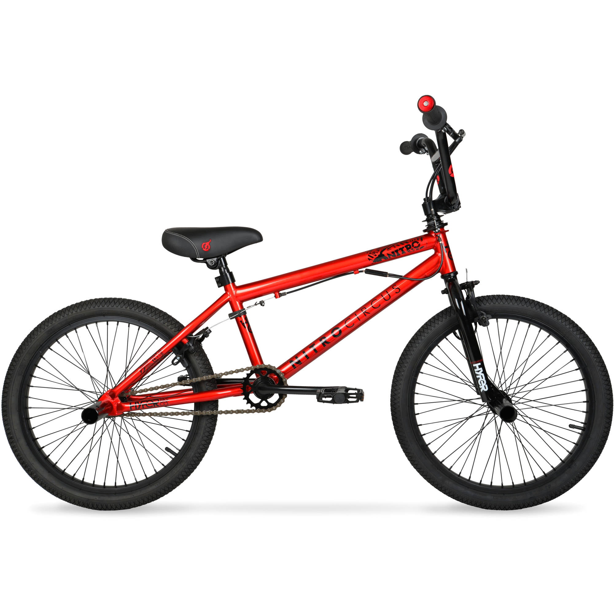 "Hyper 20"" Nitro Circus BMX Kids' Bike, Red by Hyper Bicylces"