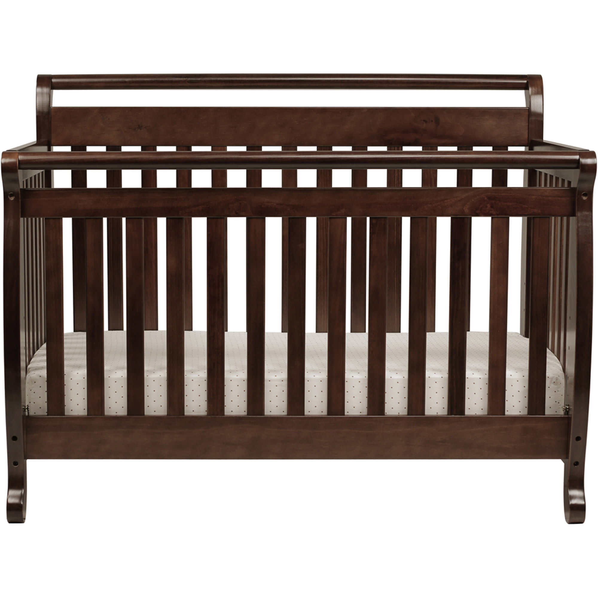 davinci emily 4-in-1 convertible crib ebony black - walmart