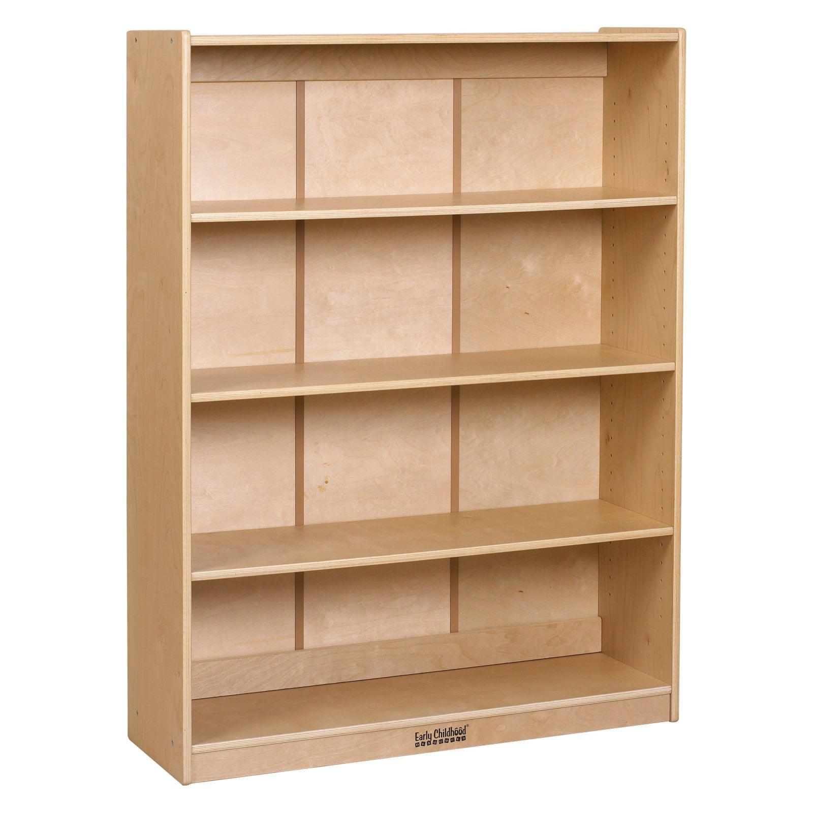 ECR4KIDS Classic Birch Bookcase