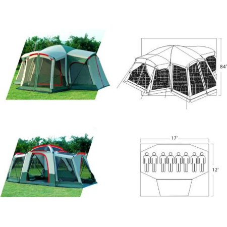 Gigatent Kinsman Mt 8-Person Family Camping Tent Review ...