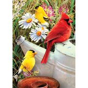 "Mini Paint By Number Kit 5""X7""-Garden Birds"