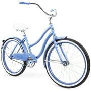 "Huffy 24"" Cranbrook Women's Comfort Cruiser Bike, Periwinkle Blue"