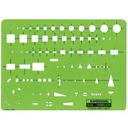 Alvin&Co 62R Rapid Design Power And Light Template
