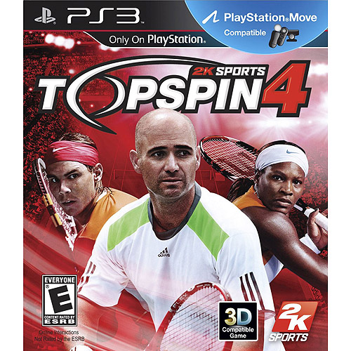 Take 2 Top Spin 4 (PS3)