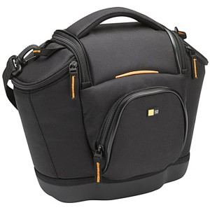 "Case Logic Medium SLR Camera Bag - 12"" x 9.5"" x 5"" - Nylon - Black"