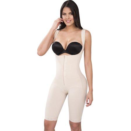 8d25a39edd Fiorella Shapewear - Powernet Butt Lifter Full Body Slimming Body Shaper  Post-Surgery Postpartum Girdle Fajas Colombianas Nude 610 by Fiorella  Shapewear ...